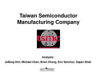 Taiwan Semiconductor Manufacturing Company