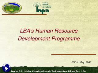 LBA's Human Resource Development Programme