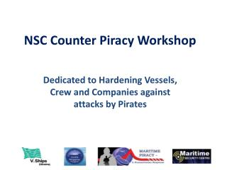 NSC Counter Piracy Workshop