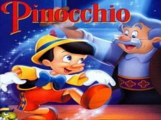 Pinocho y grillo decidieron ir a buscarle, pero se cruzaron con un grupo de niños: