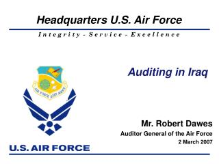 Auditing in Iraq
