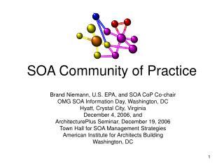 SOA Community of Practice