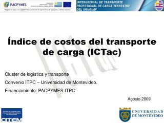 Índice de costos del transporte de carga (ICTac)