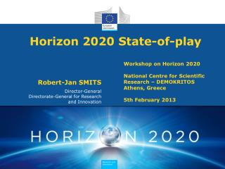 Horizon 2020 State-of-play
