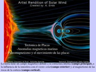 Tectonica de Placas Anomalias magneticas marinas - Paleomagnetismo y el movimiento de las placas