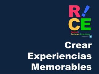Radical  ! Customer Experience