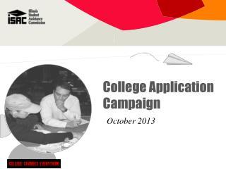 College Application Campaign