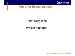 Flip Chip Research 2002