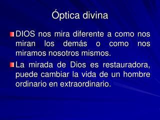 Óptica divina