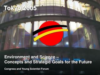 Environment and Science –  Concepts and Strategic Goals for the Future