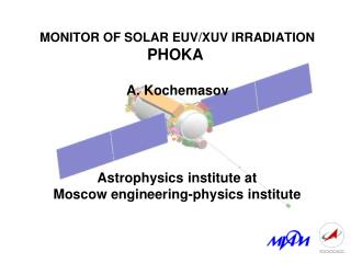 MONITOR OF SOLAR EUV/XUV IRRADIATION PHOKA
