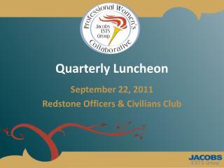 Quarterly Luncheon
