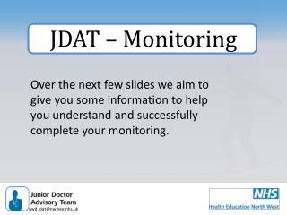 JDAT – Monitoring