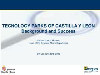Technology Parks of Castilla y León