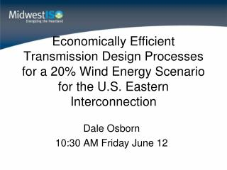 Dale Osborn 10:30 AM Friday June 12