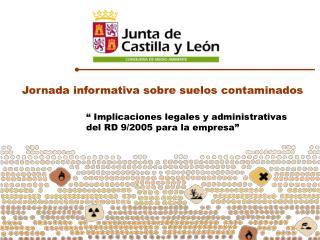 Jornada informativa sobre suelos contaminados
