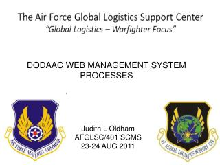 DODAAC WEB MANAGEMENT SYSTEM PROCESSES