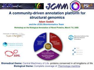 A community-driven annotation platform for structural genomics