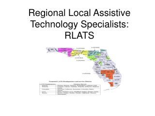 Regional Local Assistive Technology Specialists: RLATS