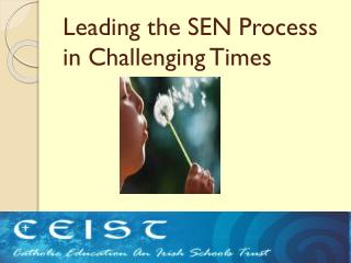Leading the SEN Process in Challenging Times