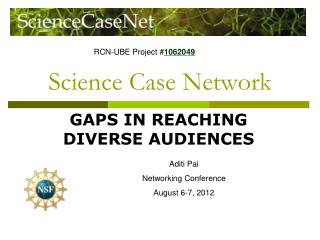 Science Case Network