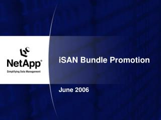 iSAN Bundle Promotion