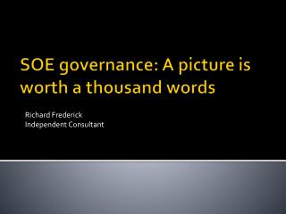 SOE governance: A picture is worth a thousand words