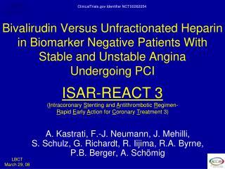 ISAR-REACT 3