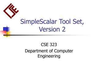 SimpleScalar Tool Set, Version 2