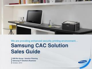 Samsung CAC Solution Sales Guide