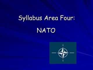Syllabus Area Four: