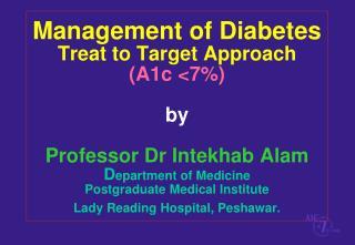 Milestones in Diabetes Treatment