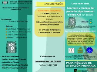 Curso online de  INSULINIZACIÓN  EN DIABETES TIPO 2