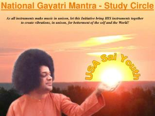 National Gayatri Mantra - Study Circle