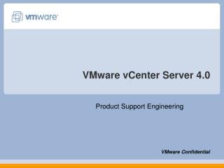 VMware vCenter Server 4.0