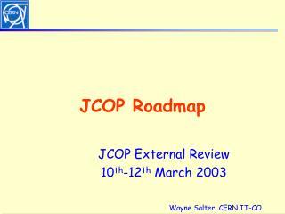JCOP Roadmap