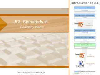 JCL Standards #1
