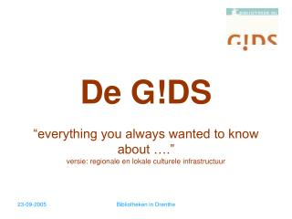 De GDS