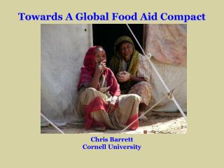 Towards A Global Food Aid Compact
