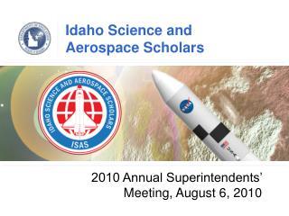 Idaho Science and Aerospace Scholars