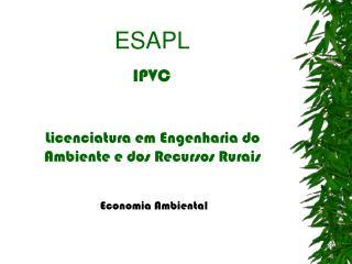 ESAPL  IPVC