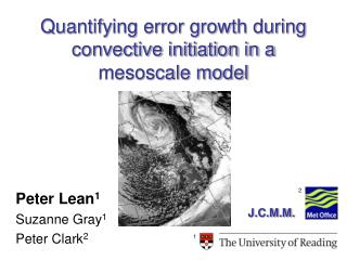 Quantifying error growth during convective initiation in a mesoscale model