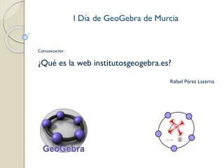 I D�a de GeoGebra de Murcia
