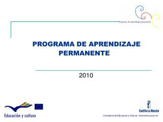 PROGRAMA DE APRENDIZAJE PERMANENTE