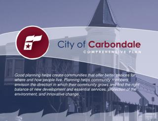 Carbondale's Future – Comprehensive Plan