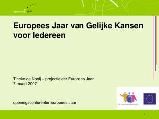 Europees Jaar van Gelijke Kansen voor Iedereen