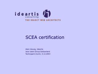 SCEA certification