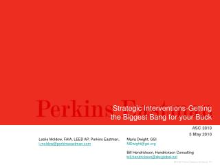 Strategic Interventions-Getting the Biggest Bang for your Buck