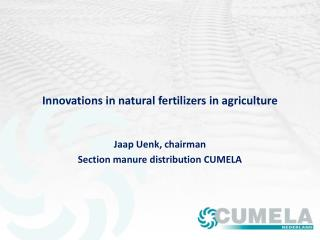 Innovations in natural fertilizers in agriculture