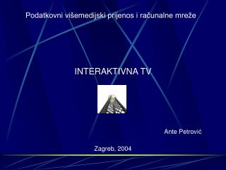 INTERAKTIVNA TV